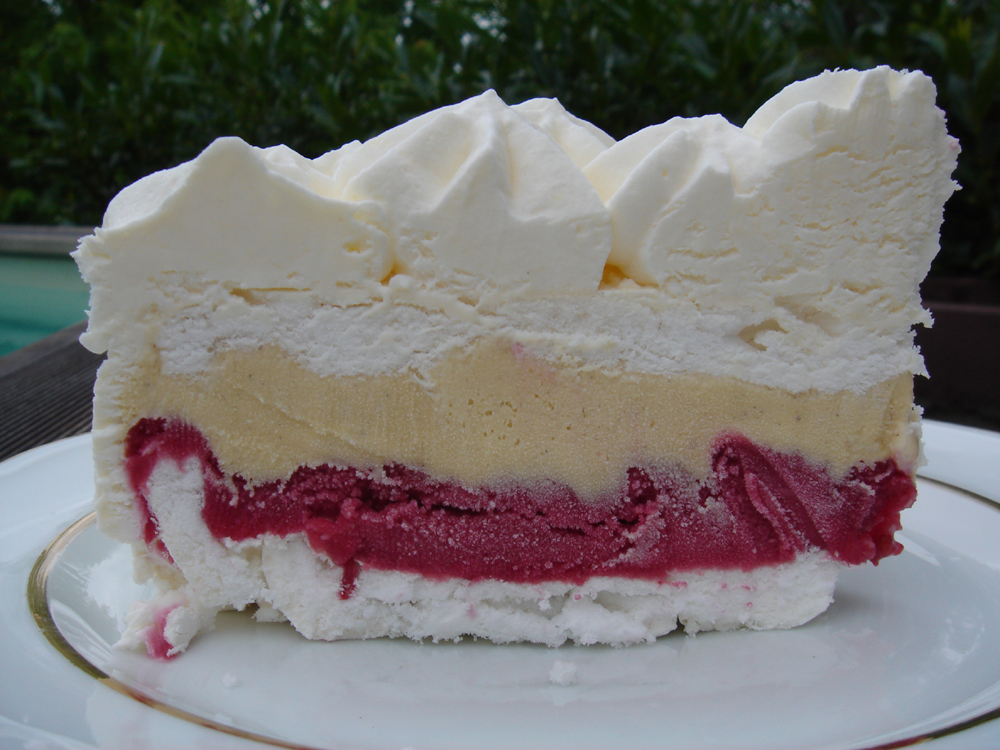 Ice Cream Cake Meringue