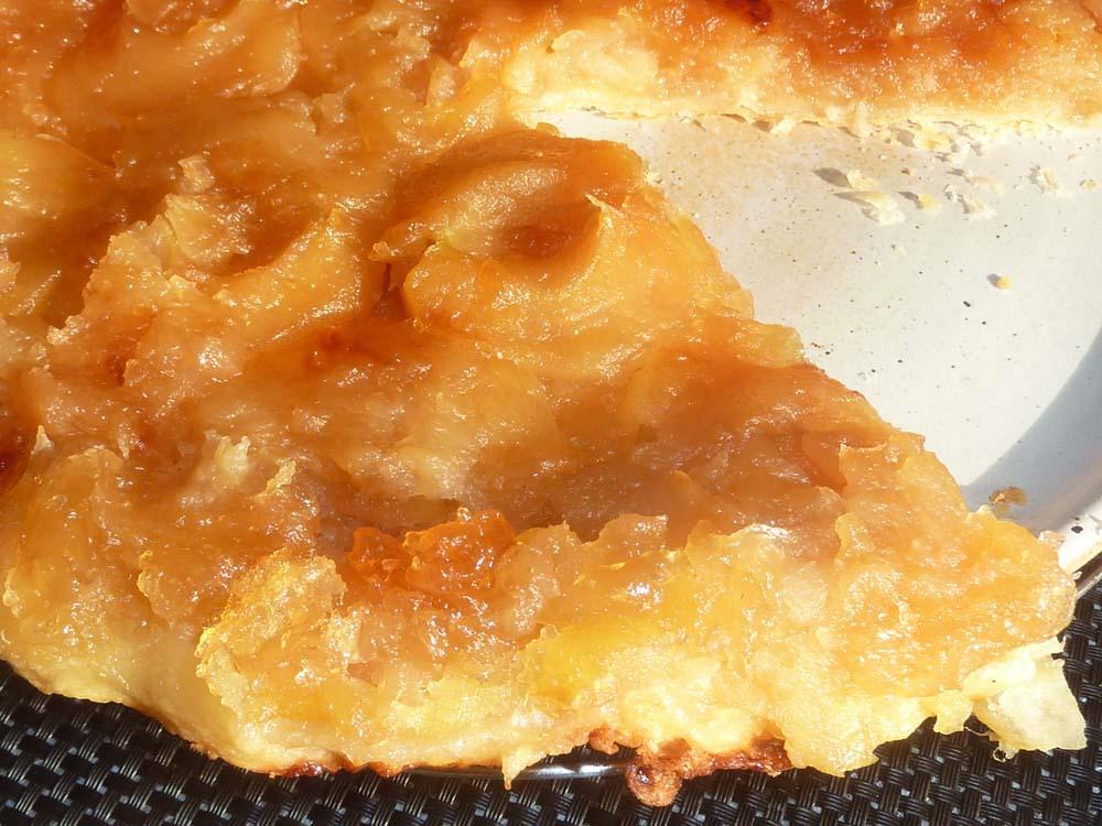 tarte tatin les recettes de pierrette